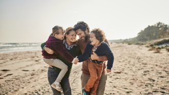 voorjaarsvakantie-gezin