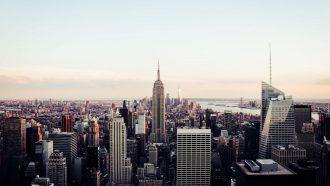 New York door Oliver Norbett