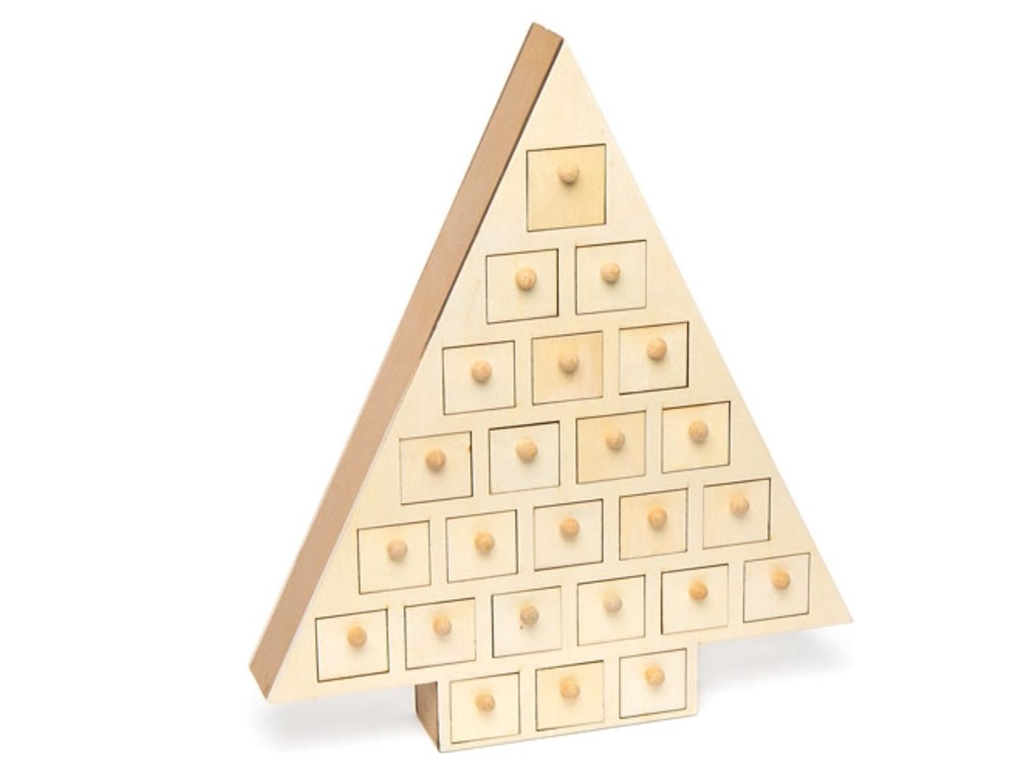 kalender van hout