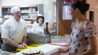 Meghan Markle praat met chefkok over dieet