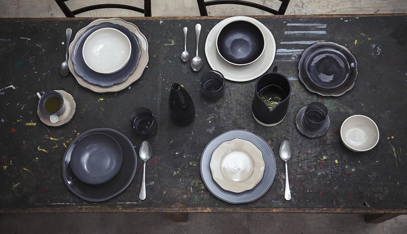 Servies van The Table op tafel