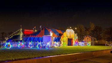 Kerst op het Westergasterrein met circus Zanzara