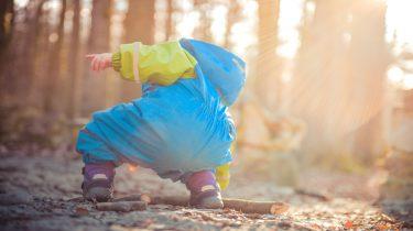 boswandeling kinderen
