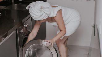 Handdoek wassen