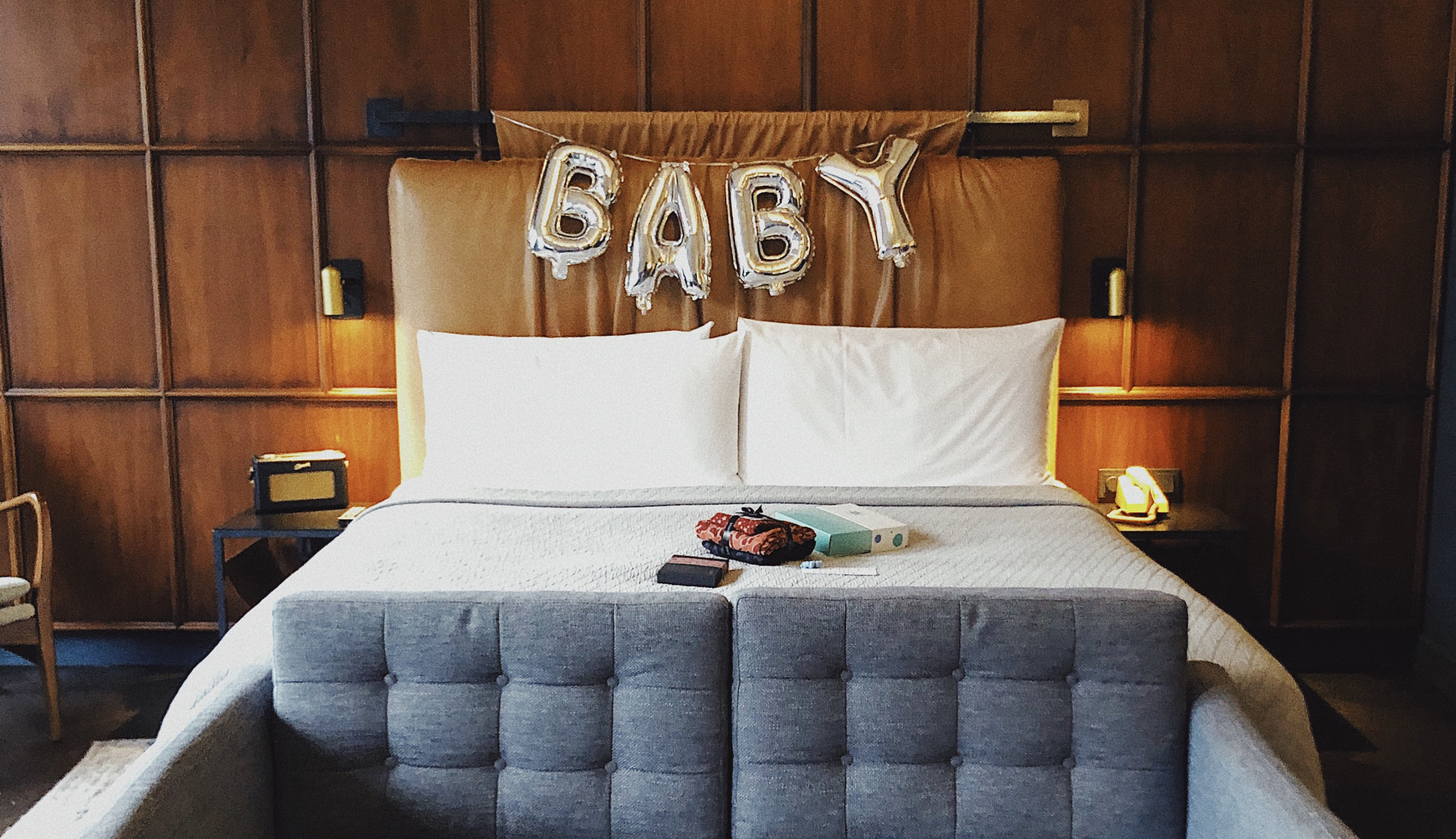 Kamer van de babymoon package in The Hoxton Amsterdam