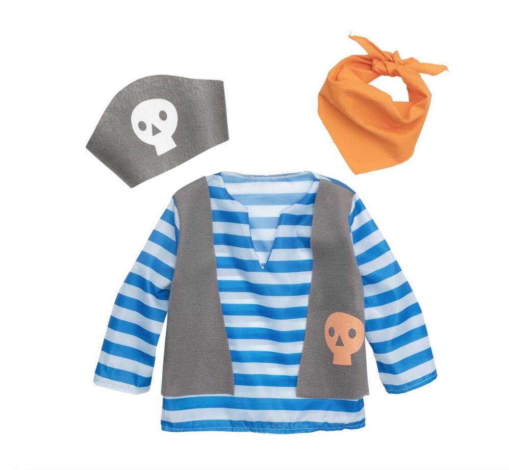 piratenpak voor kids voor carnaval