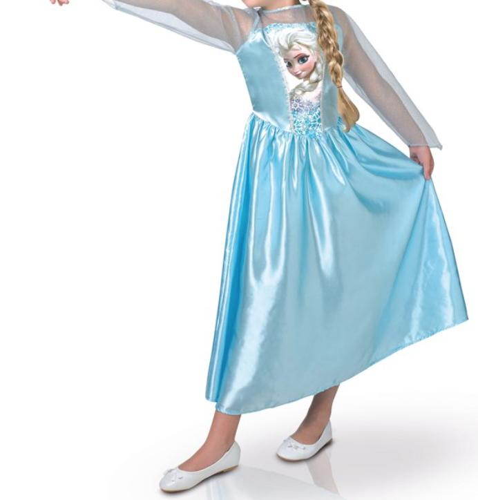 prinsessenjurk van Frozen voor carnaval