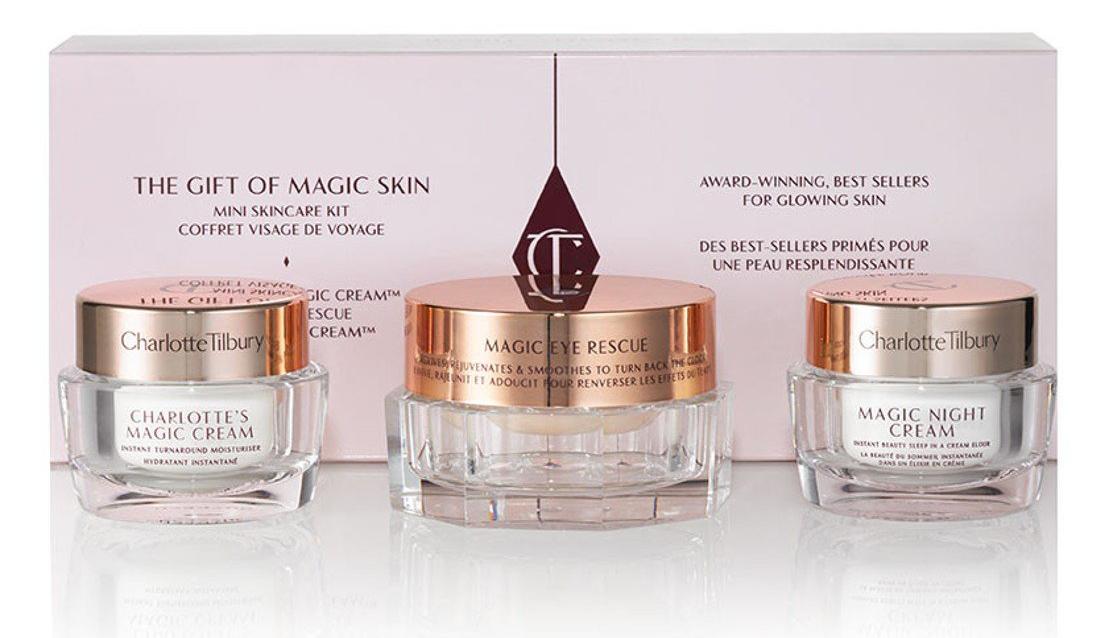 Charlotte Tilbury The Gift of Magic Skin - Limited Edition verzorgingsset voor op het lijstje moederdagcadeaus