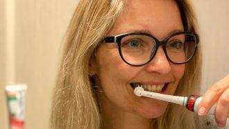 Tandenpoetsen rustmomentje