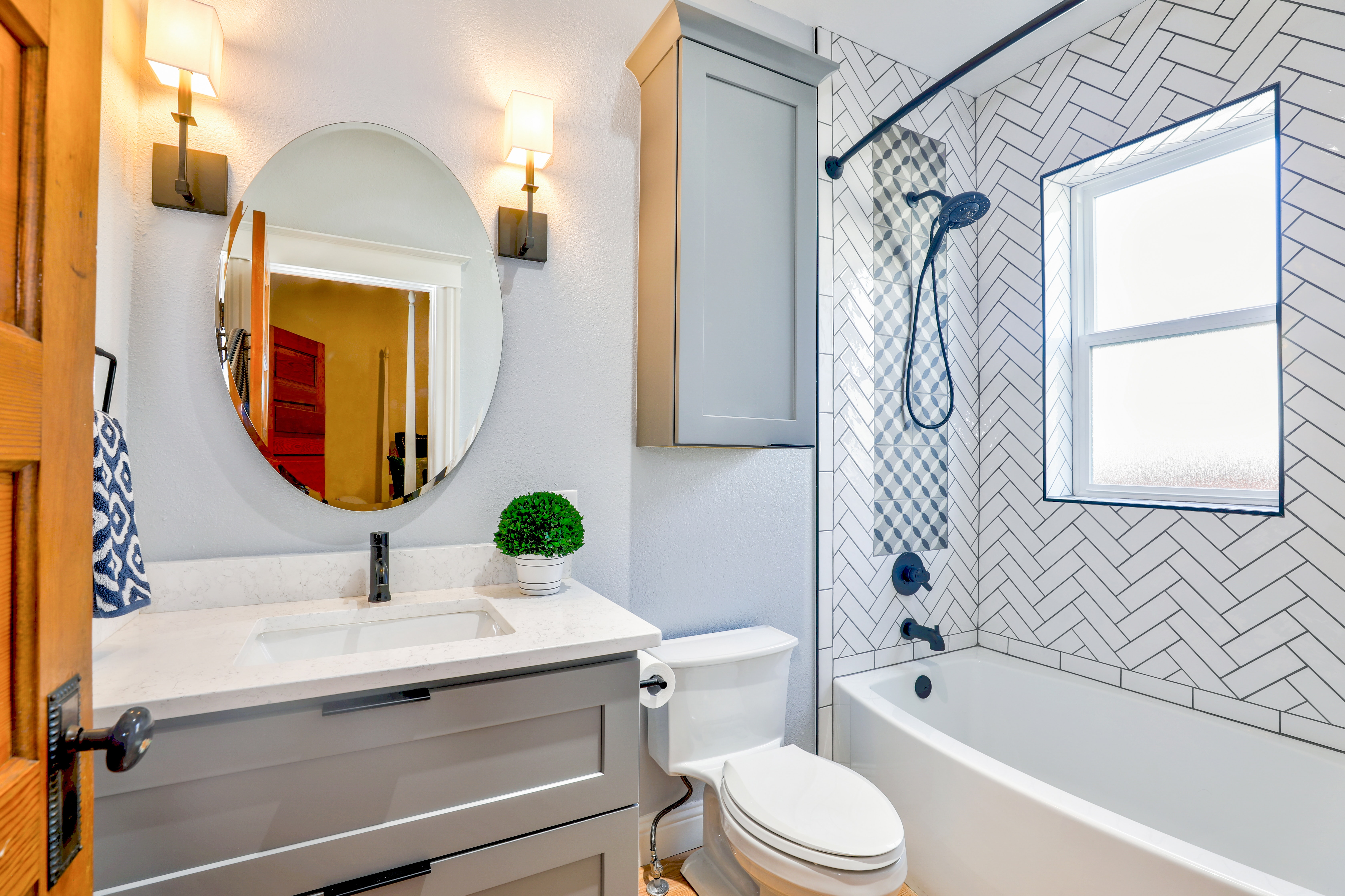 De Tegels In De Badkamer Maak Je Het Best Schoon Met Dit Wondermiddel