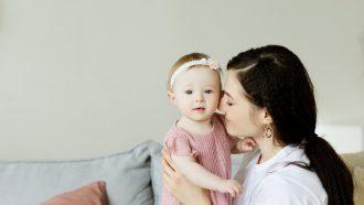 perfecte moeder met kind moeder zijn