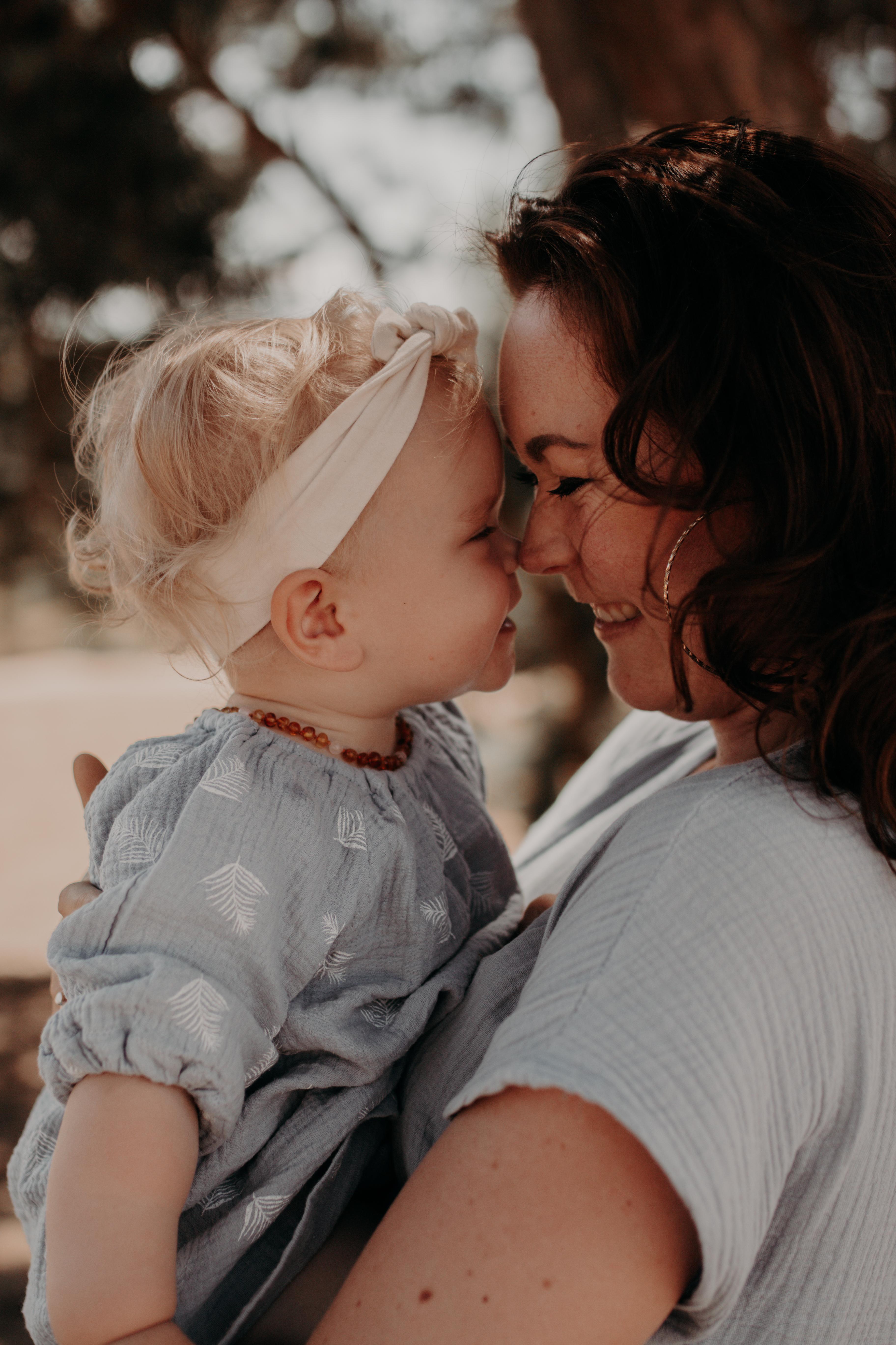 Zoraida met dochtertje Lenna