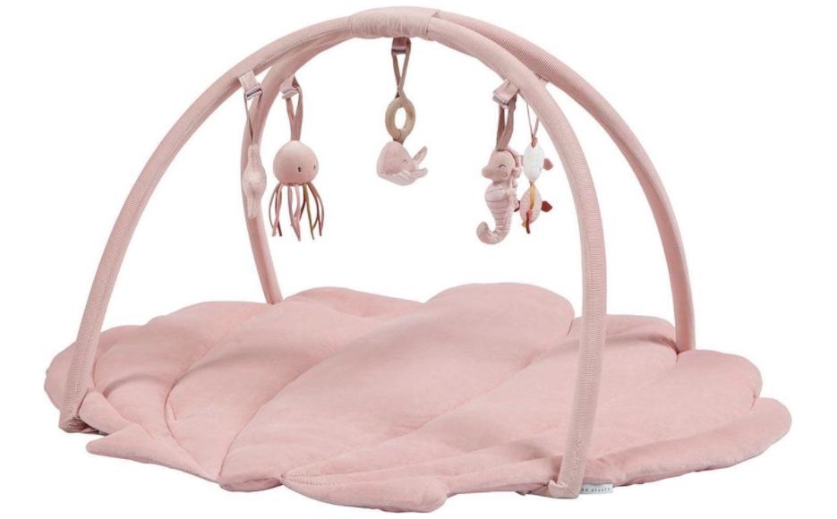 Roze Schelp Babygym van Little Dutch
